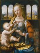 Мадонна с гвоздикой (Мадонна Гарофано) - Винчи, Леонардо да
