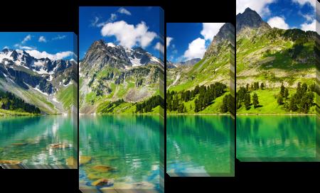 Гора и озеро 2