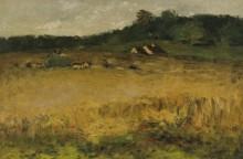 Пшеничное поле (Wheat Field), 1884 - Чейз, Уильям Меррит