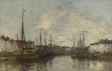 Порт в Брюсселе - Будэн, Эжен