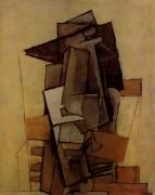 Сидящий человек, 1917 - Пикассо, Пабло