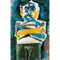 Человек со скрещенными руками, 1964 - Пикассо, Пабло