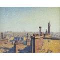 Крыши Парижа, день, 1899 - Кариот, Густав