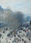 Бульвар капуцинов, Париж - Моне, Клод