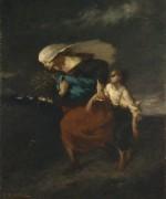Побег от бури - Милле, Жан-Франсуа