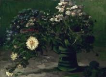 Натюрморт с букетом ромашек (Still Life with a Bouquet of Daisies), 1884-85 - Гог, Винсент ван