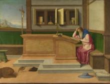 Святой Иероним в своем кабинете - Катена, Винченцо