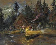 Песни у костра - Коровин, Константин Алексеевич