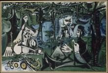 Завтрак на траве - Пикассо, Пабло