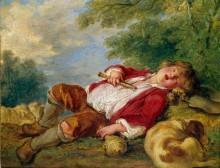 Спящий пастушок - Буше, Франсуа