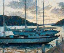 Парусные судна на пристани - Сарноф, Артур