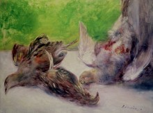 Натюрморт с фазанами - Ренуар, Пьер Огюст