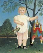 Ребенок с марионеткой - Руссо, Анри