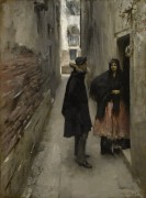 Улочка в Венеции - Сарджент, Джон Сингер
