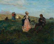Пейзаж с фигурами, 1904 -  Кондер, Чарльз