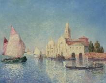 Вид в Венеции -  Пюигадо, Фердинанд дю