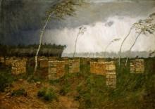 Буря. Дождь. 1899 - Левитан, Исаак Ильич