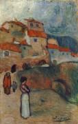 Испанская деревня - Пикассо, Пабло