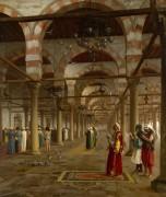 Молитва в мечети - Жером, Жан-Леон