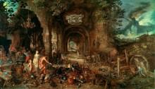 Венера в кузнице Вулкана - Брейгель, Ян (Старший)