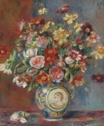 Ваза с цветами - Ренуар, Пьер Огюст