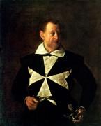 Антонио Мартелли, рыцарь Мальтийского ордена - Караваджо, Микеланджело Меризи да