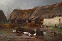 Утки на ферме - Кауфман, Адольф