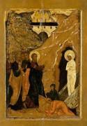 Воскрешение Лазаря (XVI в)