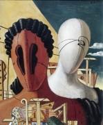 Две маски - Кирико, Джорджо де