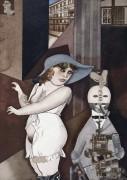 Даум выходит замуж за её педантичного как автомат Георга в мае 1920 года и Джон Хартфилд рад этому - Грос, Георг