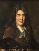 Портрет Шарля Перро в мантии члена Французской академии