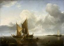 Корабли в штиль - Капелле, Ян ван де