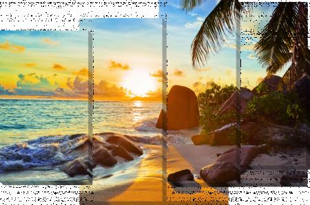 Пляж. Закат