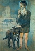 Мальчик с собакой, 1905 - Пикассо, Пабло