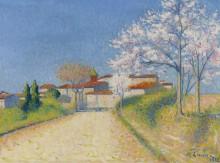 Дорога ведущая в Келхо,  1922 - Ложе,  Ашиль