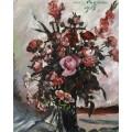 Розовые розы, 1917 - Коринт, Ловис