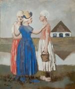 Три голландки - Пикассо, Пабло
