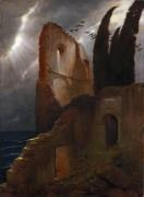 Руины у моря - Бёклин, Арнольд