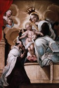 Поклонение младенцу - Лотто, Лоренцо