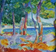 Сосновый лес в Кавальере - Мангин, Анри