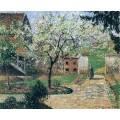 Цветущая слива, Эрани, 1894 - Писсарро, Камиль