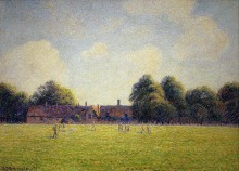 Хэмптон-Корт Грин, 1891 - Писсарро, Камиль