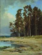 Лес, 1885 - Шишкин, Иван Иванович