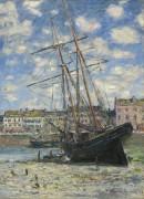 Парусная лодка во время отлива - Моне, Клод