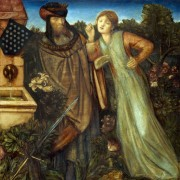 Король Марк и Изольда - Бёрн-Джонс, Эдвард