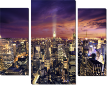 Нью Йорк ночь