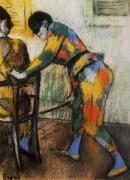 Два арлекина, 1886 - Дега, Эдгар