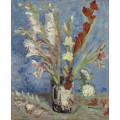 Ваза с гладиолусами и китайскими астрами (Vase with Gladioli and Chinese Asters), 1886 - Гог, Винсент ван