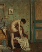 Дама за туалетом, 1925-30 - Андре, Альберт