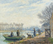 Рыбаки в Море-сюр-Луан, 1904-05 - Пикабиа, Франсис